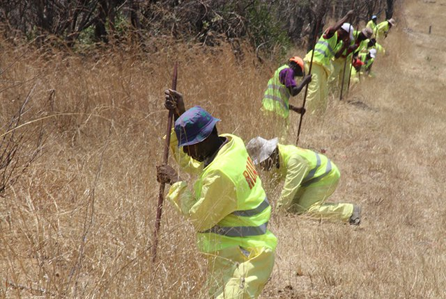 Bulawayo-Plumtree highway perimeter fence commissioned